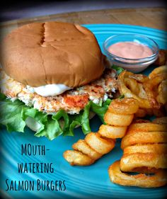 Mouth-Watering Salmon Burger