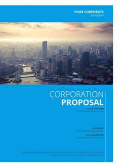 #ClippedOnIssuu from Corporateproposaltemplate