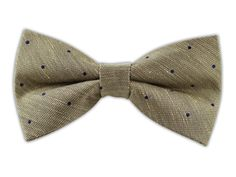Bulletin Dot - Light Champagne (Linen Bow Ties)   Ties, Bow Ties, and Pocket Squares   The Tie Bar