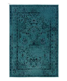 Take a look at this Teal Ornate Renaissance Rug by Oriental Weavers on #zulily today! ORDERED YO!