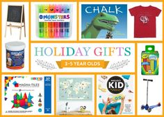2015 Holiday Gift Guide: 3-5 Year Olds Thumbnail
