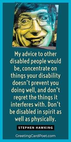 World Disability Day is celebrated on December 3. Check out FAQs, quotes, and history on the day. National Celebration Days, Disability Day, Disabled People, International Day, Stephen Hawking, Beautiful Words, Quote Of The Day, December, United Nations