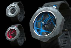 These Watches Are Made Of Concrete
