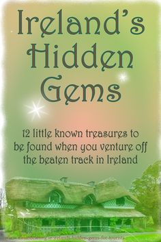 When people travel thousands of miles to Ireland it is natural to want to check out the big cities such as Dublin and Belfast. Or Guinness Tower and the Ashford Castle. However, there are countess hidden gems in Ireland. Click through for more detail