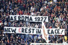 AS Roma vs Fiorentina (8 Dic 2013) Curva Nord As Roma