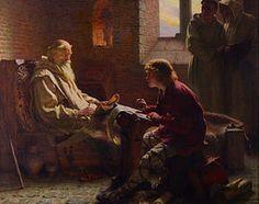 """SÃO BEDA (ca. 673—26 de maio de 735), conhecido também como """"Venerável Beda""""  foi um monge inglês que viveu nos mosteiros de São Pedro, em Monkwearmouth, e São Paulo, na moderna Jarrow, no nordeste da Inglaterra, uma região que, na época, era parte do Reino da Nortúmbria. Ele é conhecido principalmente por sua obra-prima, a """"Historia ecclesiastica gentis Anglorum"""" (""""História Eclesiástica do Povo Inglês""""), trabalho que lhe rendeu o título de """"Pai da História Inglesa"""""""