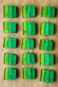 Irish Rainbow Cookies for St. Patrick's Day (Recipe and pictures)