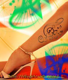 treble clef #tattoo