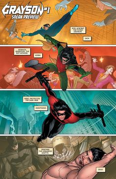 Page from Grayson #1 (2014)