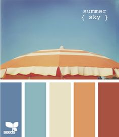 I love these color swatch matches - great for scrapbooking, cardmaking, etc.