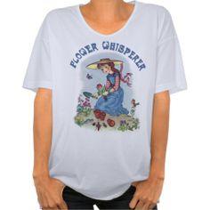 Flower Whisperer Tshirt $24.95