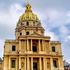 Nuageux sur les invalides. #paris #Pics #beautiful #Love #Instagood #Travel #Like #City #FollowMe #nice #perspective #scenery #all_shots #architecture #View #landscape #explorer  #Awesome #scenery #igersparis #amazing #skyporn #sky #art #Tourism #design #Gallery #army #View #visit #france #capital by barthi75