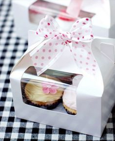 10 pcs Window CUPCAKE moon cake box cake box by sweetloveqiner, $20.68