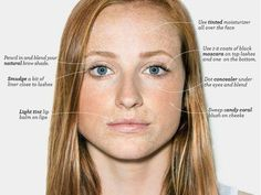 "How to apply the ""natural"" look to enhance your features without looking like a crayon box."