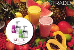 Prepare the tastiest and healthiest juices of the summer with the Adler juicer. Grab it on Postrader, way below the market price, for as low as 47 EUR! https://postrader.co.uk/src-ip/weekly-promotion