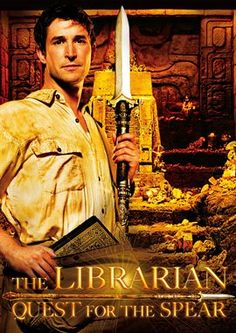 The Librarian!  How could we resist not pinning this movie!
