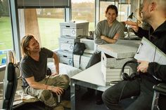 Behind the scenes with Brad Pitt on the set of World War Z