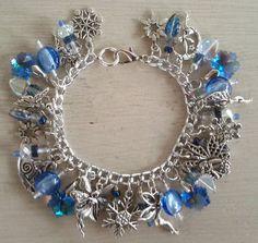 Winter Fairies Charm Bracelet by MistressJennie on Etsy, $50.00
