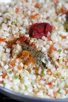Mexican Cauliflower Rice-4