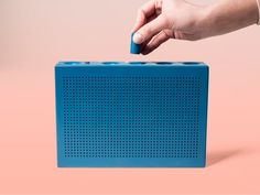 The Musikbox 1188 is a connected loudspeaker.  How it works: the Musikbox 1188 connects with your friends and you can listen to their music as they do, in realtime.   The minimalistic appearance of the device doesn't reveal too much of what's going to happen: a light point simply indicates whether one of the previously assigned friends is listening to music at the moment or not. The playful, almost toy-like, interaction however encourage the user to try out and explore. The little cylind...