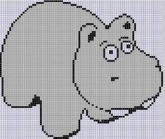 Hippo Cross Stitch Pattern | Craftsy