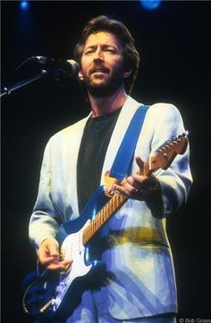 Eric Clapton, NYC 1985