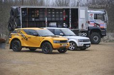 Family Affair - Bowler EXR S and Range Rover Sport sibling