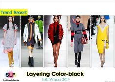 Layering Color-block #FashionTrend for Fall Winter 2014 #Trends #Fall2014 #FW2014