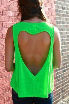 Heart Shaped Cut #hearts, #clothes, #fashion, #pinsland, https://apps.facebook.com/yangutu/