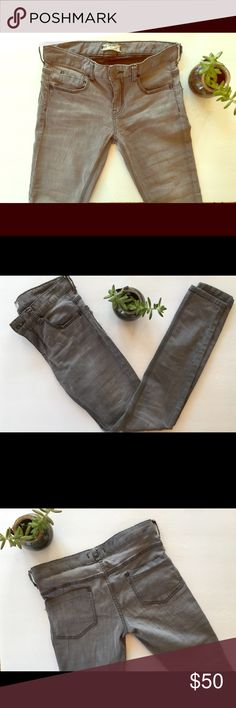 Free People Skinny Jeans Color: Grey. Size 28 Free People Jeans Skinny