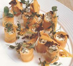 Carrot & crab cannelloni - Gordon Ramsay Recipe