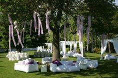 Decoracion de bodas con pompones de papel: Ideas [FOTOS]