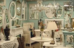 I've been wanting to check this place out for over a year now, someday.......  Vignettes - Antiques & Collectibles  4828 Newport Ave  San Diego, CA 92107-3111  (619) 222-9244