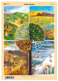 Seasons Activities, Fun Activities For Kids, Four Seasons Art, Preschool Weather, Classroom Calendar, Baby Barn, Love Teacher, Environmental Studies, Primary Teaching