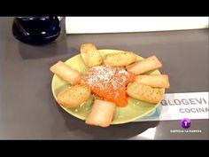 ▶ Miel sobre Hojuelas - Paté de pimiento del piquillo con manzana y queso - YouTube