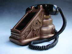 iRetrofone Steampunk iPhone 4 dock
