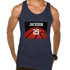 Basketball Close-up Sports custom clothes Tank