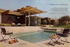 Trousdale Estates, Beverly Hills.  Architecture by A. Quincy Jones.