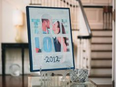 Wedding Memories True Love Photo Canvas --- SOoo gonna make this! Diy Your Wedding, Cute Wedding Ideas, Dream Wedding, Wedding Inspiration, Wedding Crafts, Wedding Stuff, Toile Photo, True Love Photos, Photo Souvenir