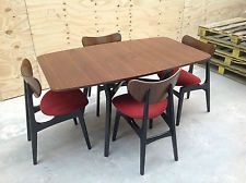 Vintage retro G plan dining table & butterfly chairs 1950's