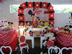Festa Minnie Ideias Minnie