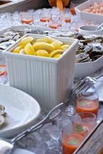 Old Cape Cod - Traditional Clam Bake - lemons - hot sauce Lobster Fest, Lobster Boil, Seafood Boil, Seafood Dishes, Seafood Recipes, Fish Fry, Fried Fish, Lobster Bake Party, Clambake Party