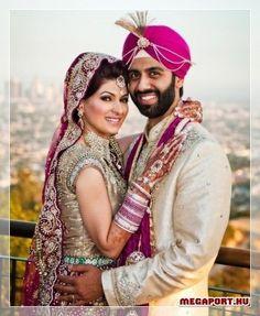 Indian wedding couple - Beautiful