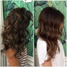 Fall colors~ Left 1. 10vol highlights  2. After I rinsed and toned her with 3/4 9nb+1/4 9v shades EQ all over for about 1min  3. Then I tapped out the root with 6nb for 5 min Right 1. 10vol highlights  2. After I rinsed and toned her with 3/4 7nb+1/4 6g shades EQ all over for about 2 min 3. Then I tapped out the root with 6nb for 5 min