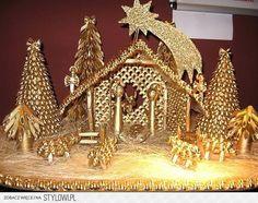 szopka bożonarodzeniowa z makaronu - Szukaj w Google