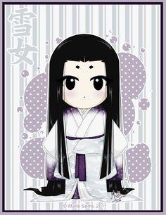 Yuki Onna by Hanami-Mai.deviantart.com on @deviantART