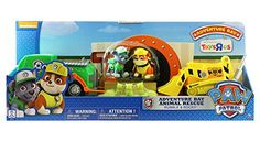 Only available at Toys R Us! No job is too big no pup too small! Welcome to the Paw Patrol Adventure Bay Rescue Set! Now kids can help Rubble and Rocky rescue their turtle friends! The Animal Rescue . Paw Patrol Gifts, Toys R Us, Animal Rescue, Turtle, Pup, Christmas Gifts, Adventure, Friends, Kids