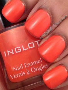 Inglot 980; breathable/water permeable nail polish
