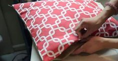 She Takes Old Pillows And Makes Them Better Than Ever WITHOUT Even Using A Sewing Machine