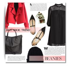 """~ Beanie ~"" by dolly-valkyrie ❤ liked on Polyvore featuring H&M, Chicnova Fashion, Jimmy Choo, Lands' End, beanie and beanies"